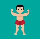Hombre tailandés del boxeo Imagen de archivo