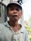 Hombre tailandés durante Año Nuevo Imagen de archivo