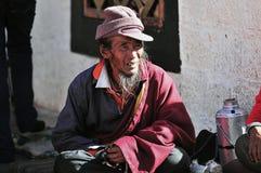 Hombre tibetano Foto de archivo libre de regalías