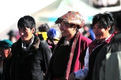 Hombre tibetano Fotos de archivo libres de regalías