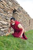 Hombre tibetano Imágenes de archivo libres de regalías