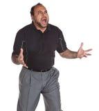 Hombre trastornado Imagen de archivo