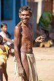 Hombre tribal Foto de archivo