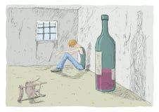 Hombre triste Imagen de archivo