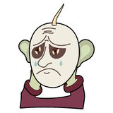 Hombre triste Foto de archivo libre de regalías