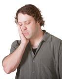 Hombre triste que mira abajo foto de archivo libre de regalías