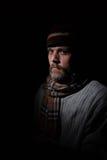 Hombre vestido tiempo del Od Fotografía de archivo libre de regalías