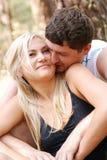 Hombre y muchacha del amor imágenes de archivo libres de regalías