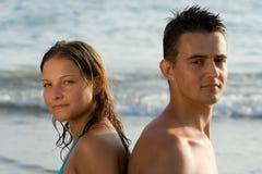 Hombre y mujer Fotos de archivo libres de regalías