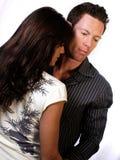 Hombre y mujer Fotos de archivo