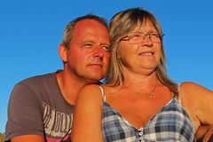Hombre y mujer Fotografía de archivo libre de regalías