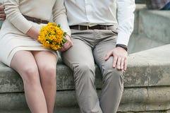 Hombre y mujer Foto de archivo