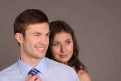 Hombre y mujer Imagenes de archivo