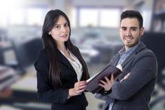 Hombre y mujer del negocio Imagen de archivo