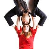 Hombre y mujer enojados Fotografía de archivo libre de regalías