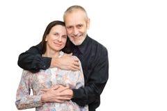 Hombre y mujer maduros Imagen de archivo libre de regalías