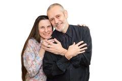 Hombre y mujer maduros Foto de archivo