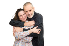 Hombre y mujer maduros Fotografía de archivo libre de regalías