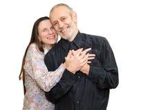 Hombre y mujer maduros Fotos de archivo libres de regalías