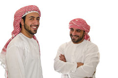 Hombres árabes Foto de archivo