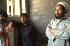 Hombres afganos Imágenes de archivo libres de regalías