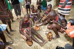 Hombres africanos Fotos de archivo