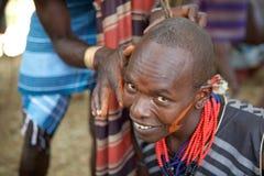 Hombres africanos Fotografía de archivo libre de regalías