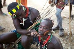 Hombres africanos Imagen de archivo