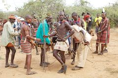 Hombres africanos Imagen de archivo libre de regalías