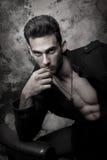 Hombres atractivos Foto de archivo libre de regalías