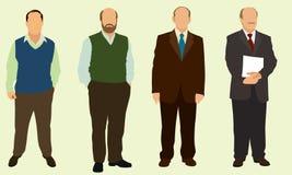Hombres calvos Imagenes de archivo