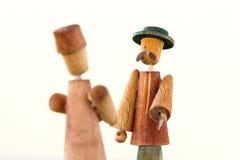 Hombres con los sombreros Imagenes de archivo