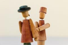 Hombres con los sombreros Fotografía de archivo libre de regalías