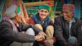 Hombres de Himachali en traje tradicional foto de archivo libre de regalías