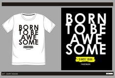 Hombres 003 de la impresión de la camiseta del vector Fotografía de archivo libre de regalías