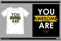 Hombres 004 de la impresión de la camiseta del vector Fotos de archivo libres de regalías
