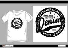 Hombres 009 de la impresión de la camiseta del vector Fotos de archivo