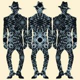 Hombres de la manera Foto de archivo libre de regalías