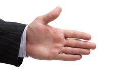 Hombres de la mano, hombre de negocios Foto de archivo