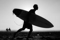 Hombres de la sombra Fotografía de archivo