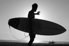Hombres de la sombra Fotografía de archivo libre de regalías