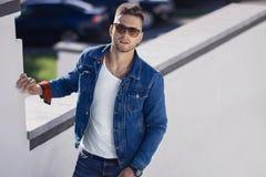 Hombres de moda Imagen de archivo libre de regalías