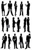 Hombres de negocios ilustración del vector