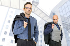 Hombres de negocios Imagen de archivo