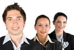 Hombres de negocios acertados Imagen de archivo libre de regalías