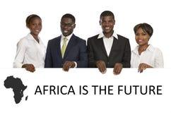 Hombres de negocios africanos Foto de archivo libre de regalías