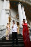 Hombres de negocios asiáticos Fotos de archivo libres de regalías