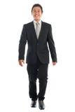 Hombres de negocios asiáticos el caminar Fotografía de archivo libre de regalías