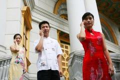 Hombres de negocios asiáticos Imagen de archivo libre de regalías
