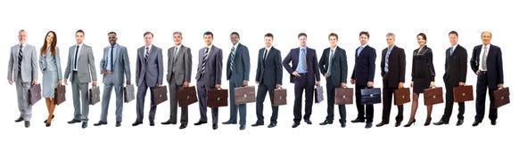 Hombres de negocios atractivos jovenes Fotografía de archivo libre de regalías